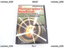 THE PHOTOGRAPHER'S HANDBOOK JOHN HEDGECOE 1978