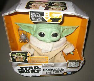 HASBRO~Star Wars Mandalorian The Child Baby Yoda Animatronic Edition