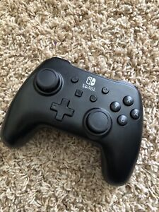 PowerA Nintendo Switch Black Wired Controller ONLY - NO CORD - NO CORD!!