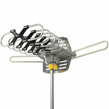 Best Choice Products HDTV Rotor Remote Outdoor Amplified Antenna 360° HD TV