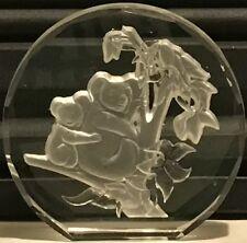 Danbury Mint Wildlife Crystals Paperweight Australian Koala Made in West Germany