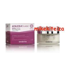 SeSDERMA Acglicolic Classic Nourishing Cream (1.7 oz / 50 ml) *IN BOX* EXP: 1/19