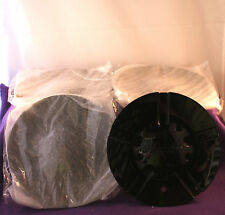 LIMITED 963 BLACK Wheel Center Caps (4) P/N # C963-2