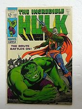 Vintage Incredible Hulk #112 (1968) The Galaxy Master Origin