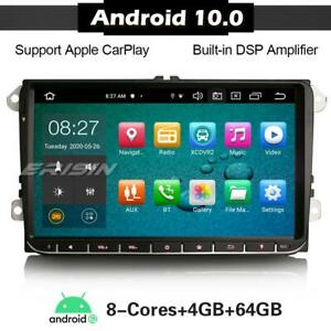 """8 Core 9""""DAB+Car Stereo Android 10 Carplay OPS for VW PASSAT GOLF SEAT Skoda T5"""