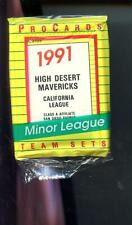 1991 ProCards High Desert Mavericks Padres Minor League Baseball Complete set