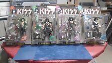 1997 Mcfarlane Toys  KISS Action Figures Set Gene Paul Peter Ace Ultra Figures