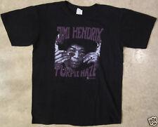 Jimi Hendrix Purple Haze Size Medium Black T-Shirt