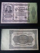 BANCONOTA GERMANIA  50000 MARK 1922
