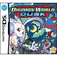 Digimon World: Dusk (Nintendo DS, 2007) Complete Box and Manual Great Condition