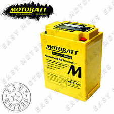 BATTERIA MOTOBATT MBTX14AU HONDA CB C CUSTOM 1000 1983>