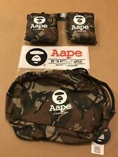 Aape By *A Bathing Ape, 1st Camp Travel Pouch SOLD OUT