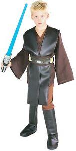 Anakin Skywalker Child Costume Boys Star Wars Jedi Halloween
