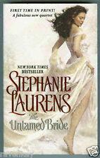 Stephanie Laurens THE UNTAMED BRIDE (Black Cobra #1) England, India NEW 2009 1st