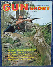 Vintage Magazine GUNSPORT May 1969 GUN SPORT !Mounting & Testing RIFLE SCOPES!