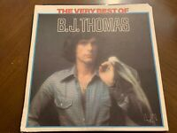 B.J. THOMAS THE VERY BEST OF VINYL LP UNITED ARTISTS