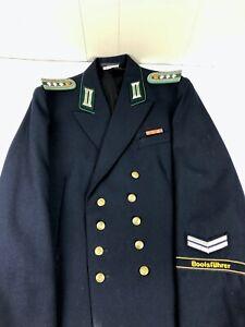 East German DDR Harbor Police Volkspolizei Uniform Bootsfuhrer Cufftitle