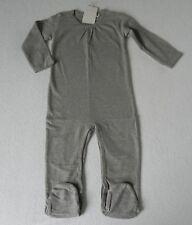 Imps & Elfs Strampler Schlafanzug Einteiler Gr.80 NEU grau