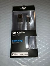 Just Wireless Lightning Connector Cable for Apple Devices-Slate Gray