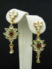 INDIAN KUNDAN Stone Earrings BOLLYWOOD Fashion Jewellery Belly Dance AUSPOST