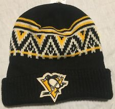 RARE Pittsburgh Penguins Stocking Cap Beanie ADULT NEW w/Tags CCM NHL Hockey