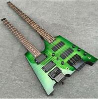 Starshine Double necks Electric guitar 4 string Bass +6/12 string Guitar Combo