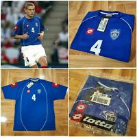 Auth Vintage Yugoslavia Lotto Jersey Vidic Player Issued XXL 2002/03 Home Shirt