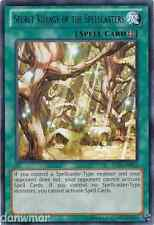 Secret Village of the Spellcasters - Common *Dark Magician* YuGiOh - Mint card