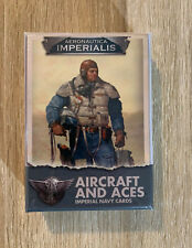 New! Aeronautica Imperialis Imperial Navy Aircraft and Aces Cards Pack Warhammer