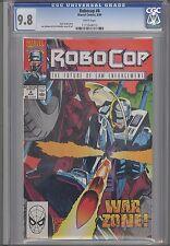 Robocop #6 CGC 9.8 1990 Marvel Comic Based upon the Movie: Price Drop!