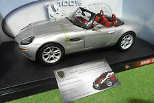 BMW Z8 Cabriolet gris échelle 1/18 HOT WHEELS 29614 voiture miniature collection