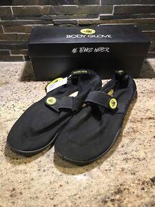 Body Glove Mens Water Shoes Black Yellow Size 12 Beach River Lake Shoes