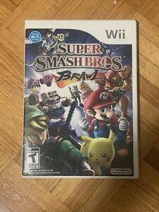 Super Smash Bros. Brawl (Wii, 2008) NINTENDO, COMPLETE