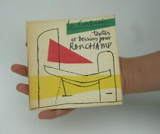 Le Corbusier Textes et Dessins pour Ronchamp 1965 EO Rare livre Architecture LC