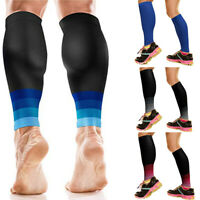A Pair Sports Leg Calf Support Compression Sleeve for Outdoor Exercise Brace