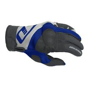 S Small Dririder RX Adventure Mens Motorbike Gloves Black/BLUE Enduro etc