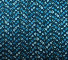 Contempo SOHO CALICO BLUES (Blue) 100% Cotton Premium Quilt Fabric-Per 1/2 Yd