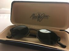 Gorgeous Maui Jim Polarized Sunglasses Excellent Frame W/ Orig. Case