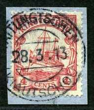 Kiautschou Mi 30  Briefstück  Taitungtschen