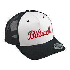 Biltwell Logo Snapback Cap Black/White/Red