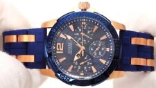 Guess Men Steel Sport Silicone Watch (w0366g4)