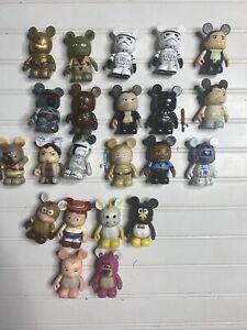Disney Vinylmation Lot Star Wars Series 1? 2? Rare Htf? Boba Fett+ Others