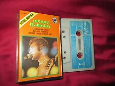johnny hallyday rare k7 audio cassette tape sonic serie