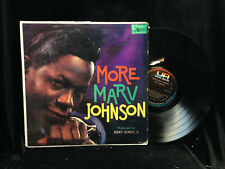Marv Johnson-More Marv Johnson-United Artists 3118-MONO ORIG GORDY