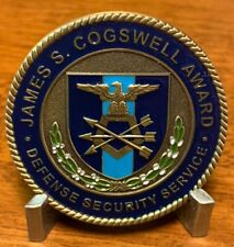 James S. Gogswell Award 50th Anniv 2016 Defense Security Service Challenge Coin