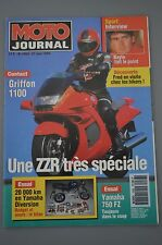 MOTO JOURNAL N°1088 FZ 750 YAMAHA XJ 600 DIVERSION HONDA RC 110 GRIFFON 1100 '93
