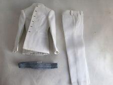 Pop Toys - End Missionary Bucket of Guns Master White Suit Jacket Pants + Belt