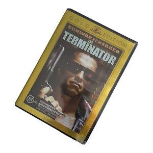New THE TERMINATOR DVD Gold Edition 2 disc region 4 PAL Schwarzenegger sealed