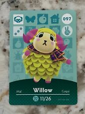 WILLOW #097 Animal Crossing Amiibo Card Mint From Either Series 1, 2, 3, 4, 5.