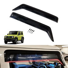 For 2019+ Suzuki Jimny JB64 JB74 Window Visor Sun Deflectors Guard Vent Shade 2X